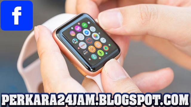 Medsos Facebook Rilis Aplikasi Chatting Khusus Apple Watch