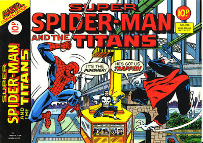 Super Spider-Man and the Titans #223, Nightcrawler and the Punisher
