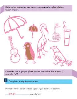 Respuestas Apoyo Primaria Español 2do grado Bloque 3 lección 6 El trabalenguas en otra lengua y en español