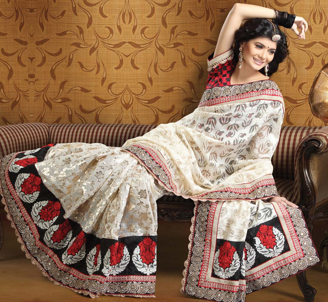 latest marriage sarees