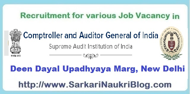 Naukri Vacancy Recruitment CAG India