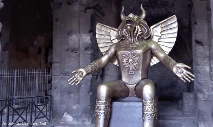 Estatua del dios Moloc