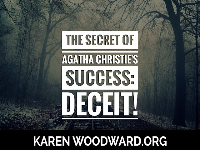 The Secret of Agatha Christie's Success: Deceit!
