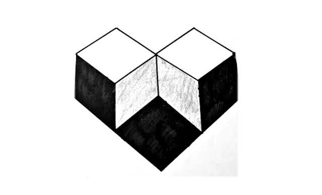 dibujos faciles tridimensionales