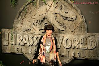 Geraldine Chaplin Premiere Jurassic World