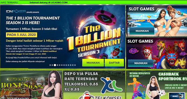 Situs Judi Slot Online Dan Poker Terbaik 2020