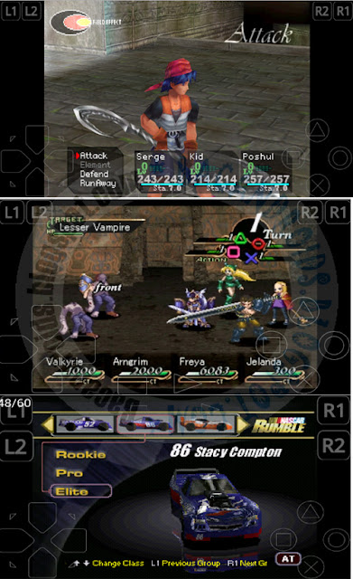 Download Emulator PS1 PSX ePSXe 2.0.6 Apk terbaru for Android