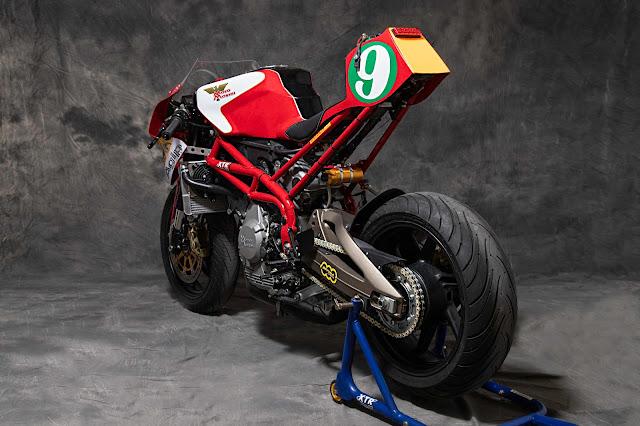Moto Morini Corsaro Veloce By XTR Pepo Hell Kustom