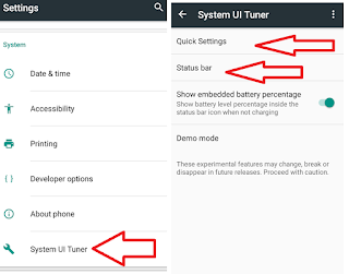 How to Customize Remove Add Notification Bar in Android (No Root No App),how to change notification bar,how to change customize status bar,add and remove icons,rearrange icons,move up down,left right,notification bar change,color change,quick setting,Status bar customize,add app in notification bar,remove app,change app status bar,android phone notification bar,android status bar,Android Marshmallow 6.0.1,wifi,bluetooth,airplane,cast,torch,location,add icon Customize add and move notification status bar in android phone, no need to root and no app needed..  Click here for more detail..