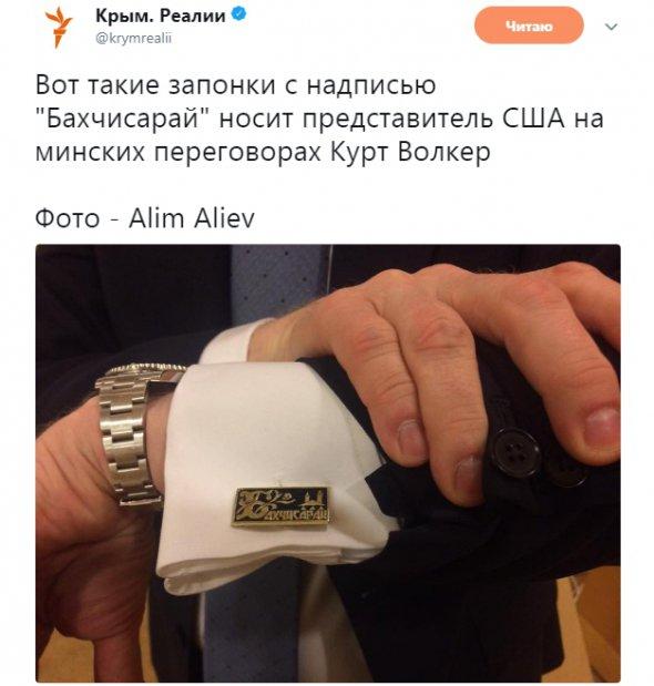 Курт Волкер тролить росіян на Мінському процесі.