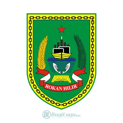 Kabupaten Rokan Hilir Logo Vector Bagilogo Com