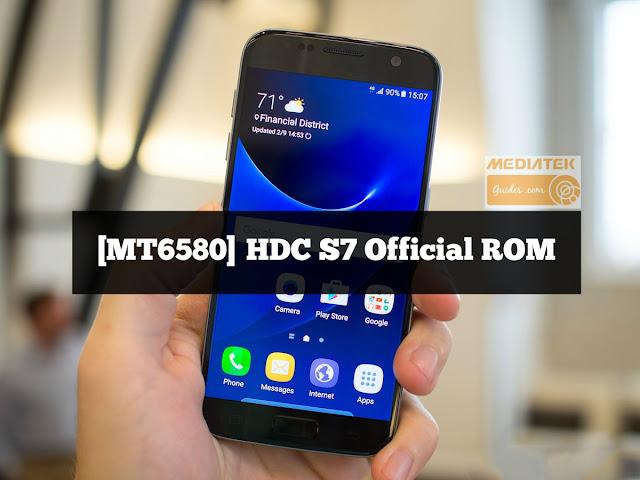 [MT6580] Samsung Galaxy S7 Clone New Firmware