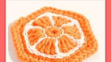 Bolsa de compras de Naranja - DIY