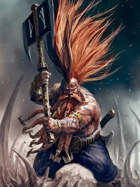 Berreck the Great slaying Cryovain