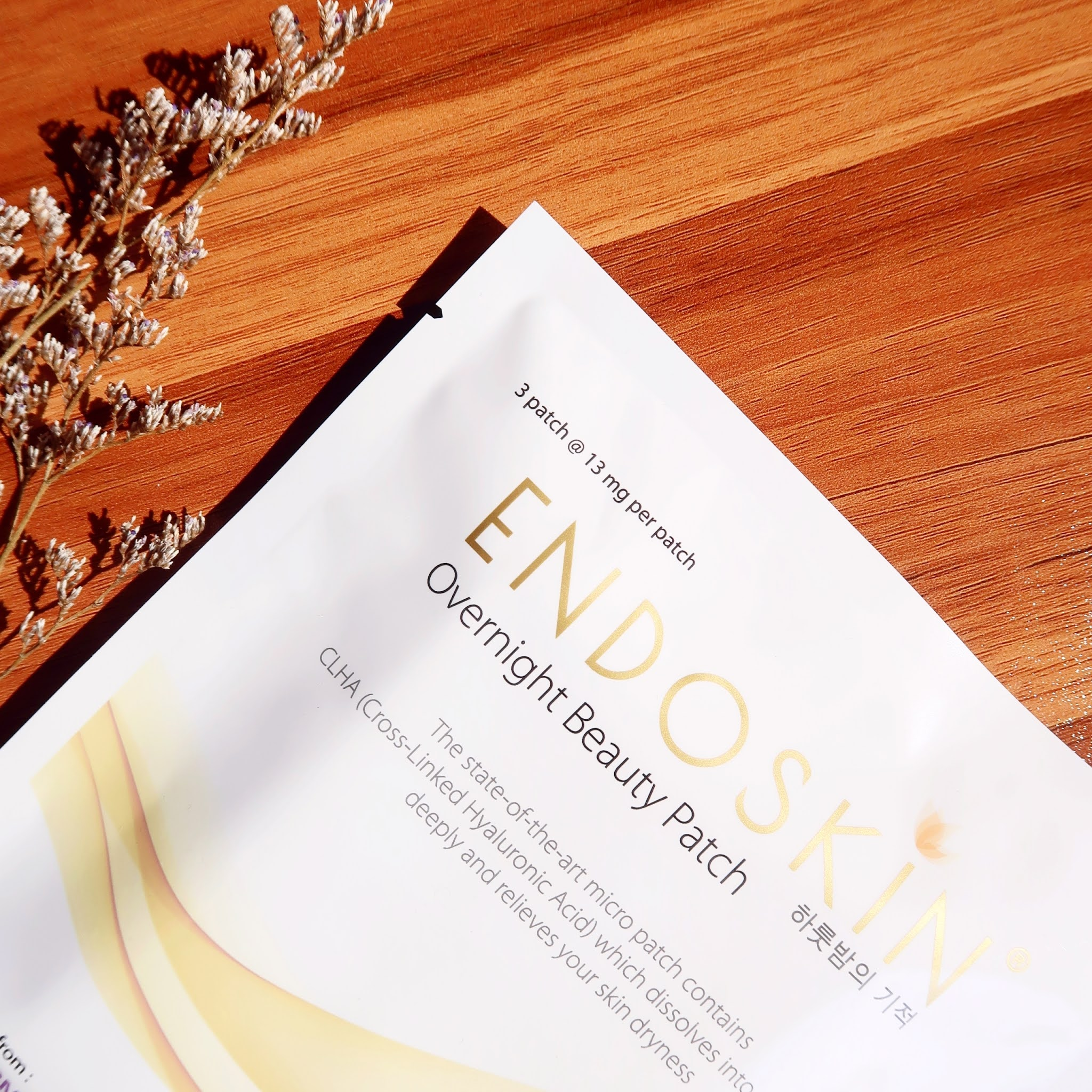 Review Endoskin Overnight Beauty Patch