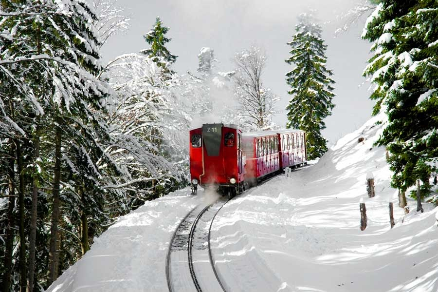 Tren cremallera Wolfgangsee