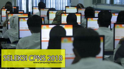 Kuota dan Formasi CPNS 2018 Lampung