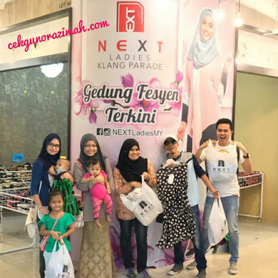 next ladies klang parade, next food junction klang parade, ksong klang parade, klang parade, next ladies,