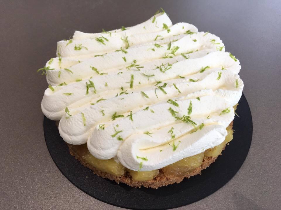 Cheesecake Ananas par Nicolas Buche - En-K de gourmandises
