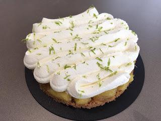 Cheesecake Ananas par Nicolas Buche