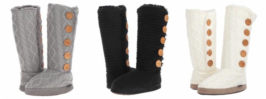 MUK LUK Malena Slipper Boots for only $17 (reg $44)