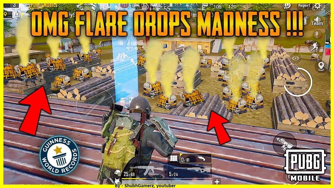 How to set Flare Gun World Record