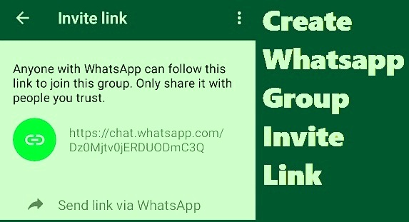 HOW TO CREATE A WHATSAPP GROUP LINK AND GET WHATSAPP GIRL NUMBER