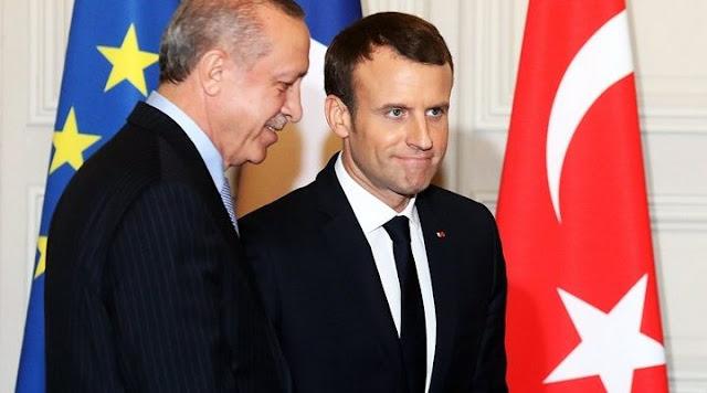 Ερντογάν: Σε κατάσταση «εγκεφαλικού θανάτου» ο Μακρόν