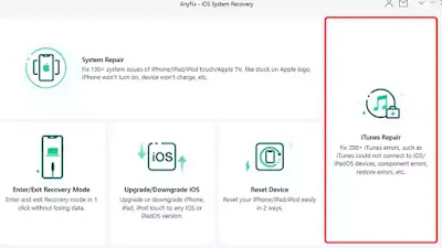 AnyFix – iOS System Recovery