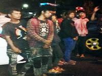 Polres Pangkep Jaring 10 Anak Jalanan dan Punk Lalu Memulangkannya Ke Makassar