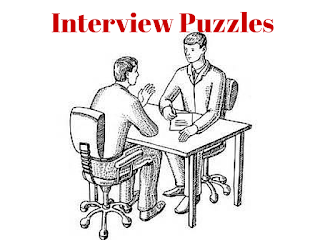 Tough Interview Puzzles with Great Answers @ Fun With Puzzles