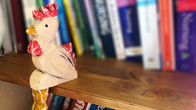 Scrap wood chicken