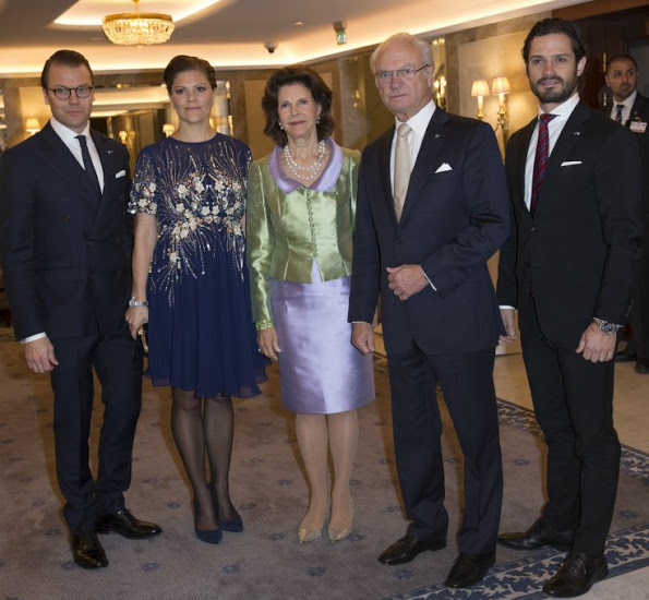 Swedish Royal Family Attended Dinner At Grand Hotel For The State Visit From Tunisia