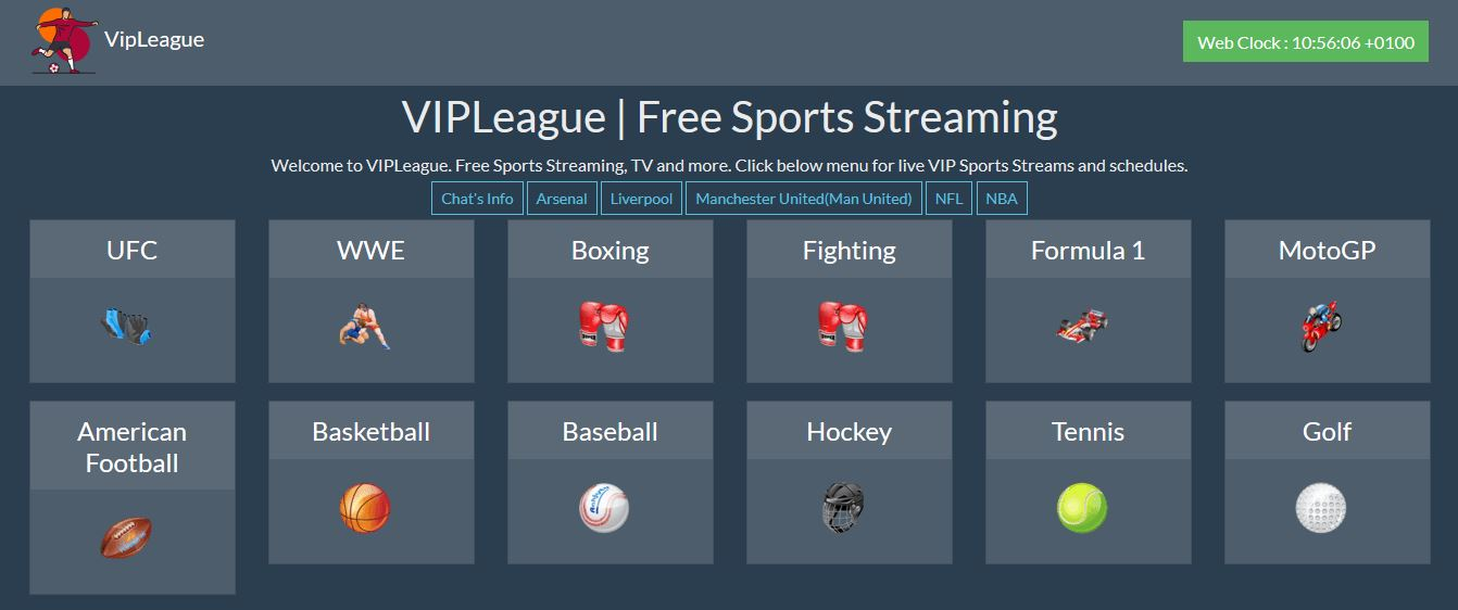 VipLeague: Top 5 Viral Sports Streaming Alternatives
