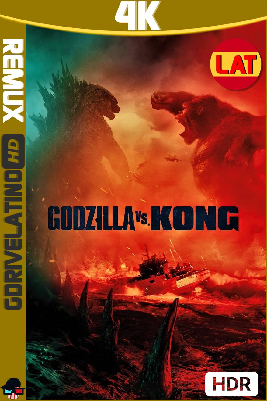 Godzilla vs. Kong (2021) BDRemux 4K HDR Latino-Ingles MKV