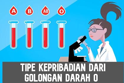 Tipe Kepribadian Golongan Darah O