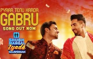 Pyaar Tenu Karda Gabru Lyrics | Shubh Mangal Zyada Saavdhan | Romy | Honey S | Song Downlaod