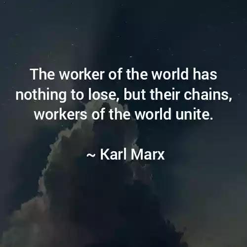 Karl Marx Best Quotes