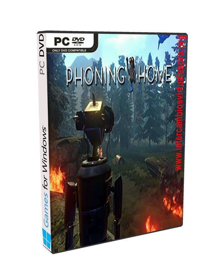 Phoning Home poster box cover