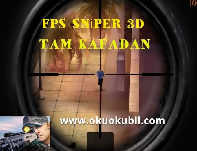 FPS Sniper 3D 1.30 Tam Kafadan Vur Mod indir 2020 Android