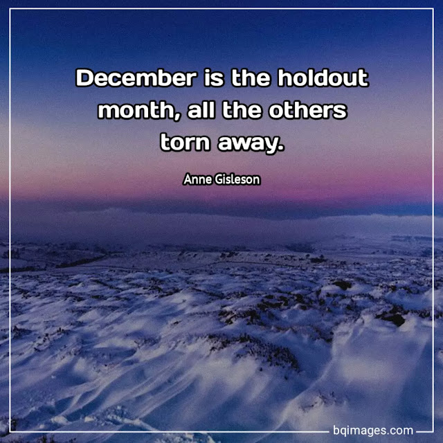 quotes for december