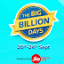 Flipkart Big Billion Day Sale Offers - Upto 90% Discount