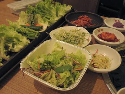 Bornga, vegetables