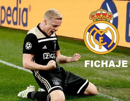 FICHAJES: Listo el fichaje de Van de Beek por el Real Madrid