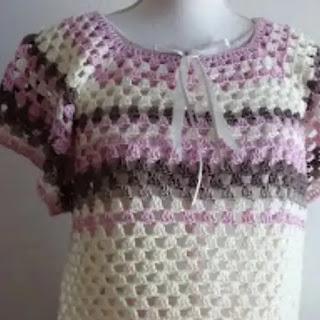 Sweater Granny Mania a Crochet
