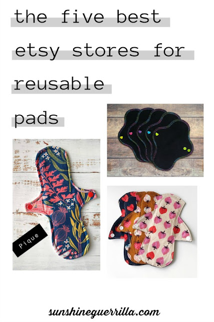 The Five Best Etsy Stores for Reusable Menstrual Pads