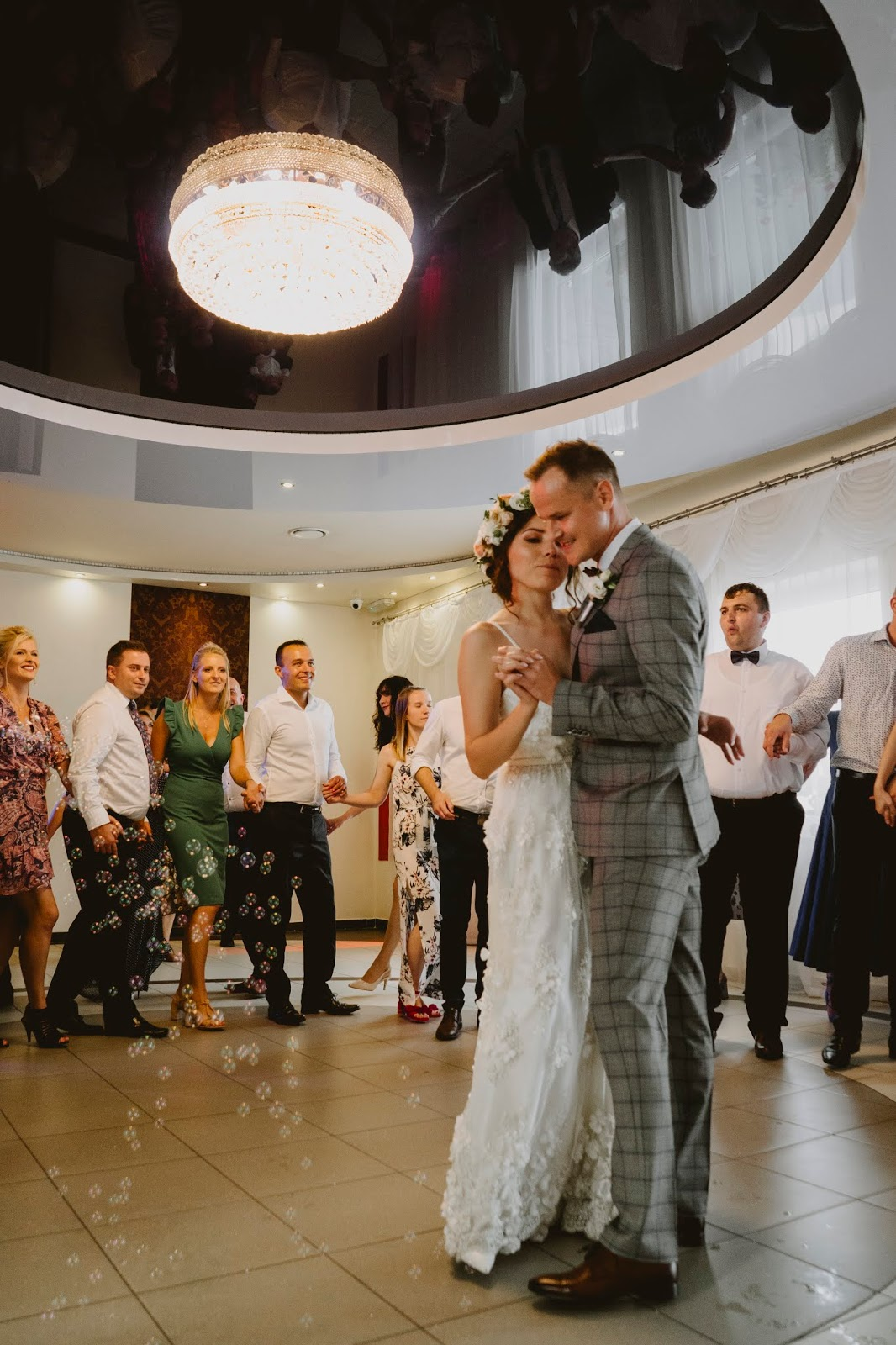 Karina i Paweł ślub nasz ślub boho rustykalny sukienka rustic kwiaty 3d karyn blog modowy