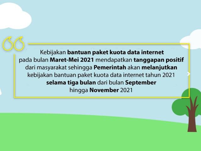 Ini Jadwal Penyaluran Bantuan Kuota Data Internet 2021 dari Kemendikbudristek