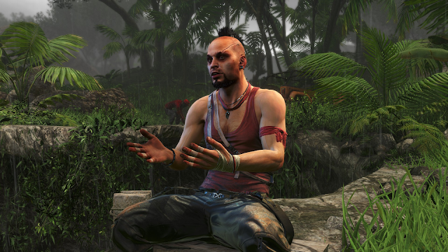 Screenshot of Vaas Montenegro from Far Cry 3