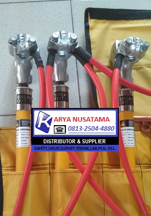 Jual Ground Stik Custem 120m Merk Break Out di Bontang